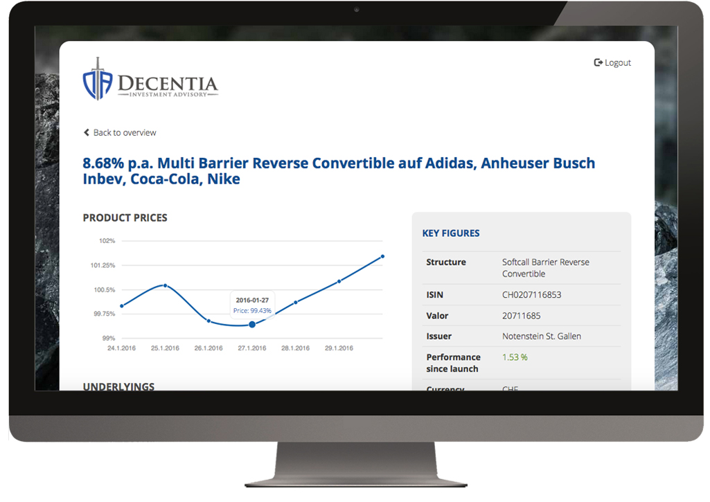 Decentia products slide 5